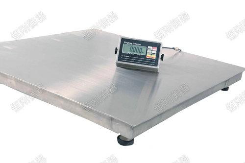 工业计重电子地磅秤 落地计量磅秤带打印