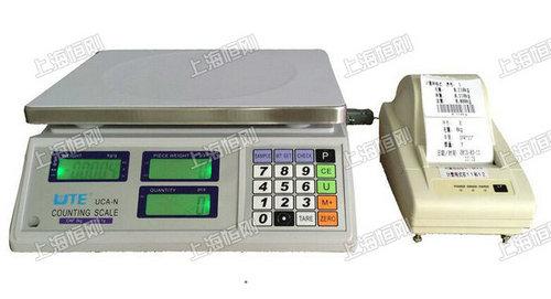 15kg电子计数秤带打印 计数打印电子秤
