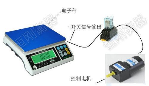 5kg电子桌秤带继电器信号输出