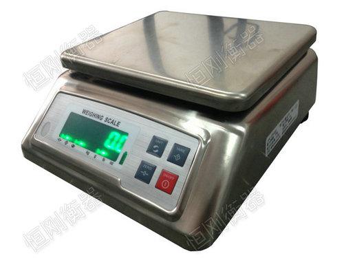 30kg防水电子桌秤 全不锈钢防水电子秤