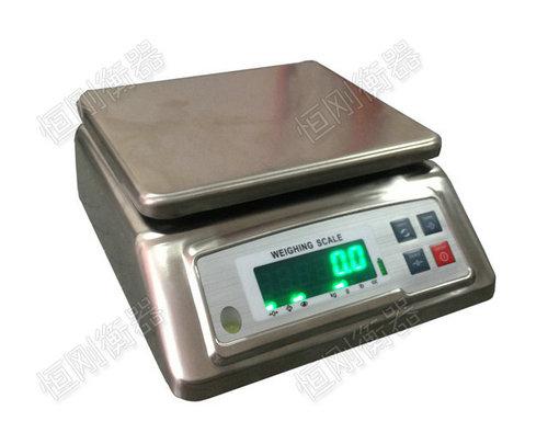 称糖不锈钢电子桌秤_30kg防水电子秤