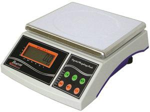 10kg/0.5g不锈钢电子桌秤